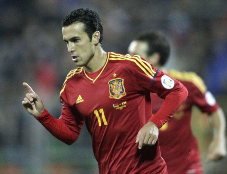 Pedro pelnė tris įvarčius