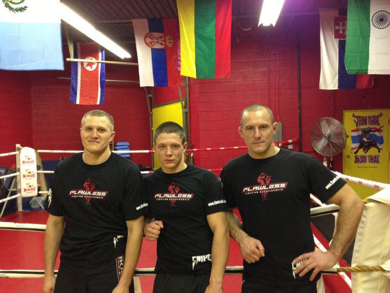 Lietuvos MMA kovotojai Čikagoje