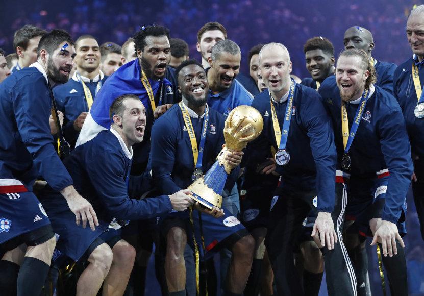 Pasaulio rankinio čempionai prancūzai
