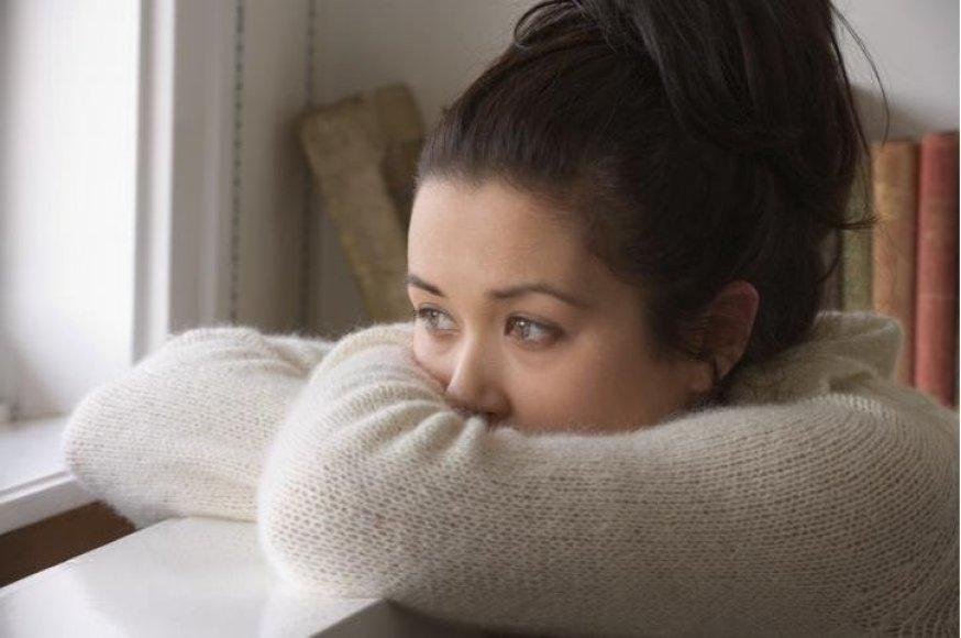 Depresija dažnai pasireiškia rudenį