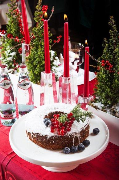 """Šventinis pyragas """"Kalėdų boba"""""""