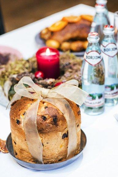 Itališkas šventinis pyragas Pan di Natale
