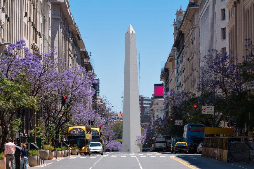 123RF.com nuotr./Buenos Airių obeliskas