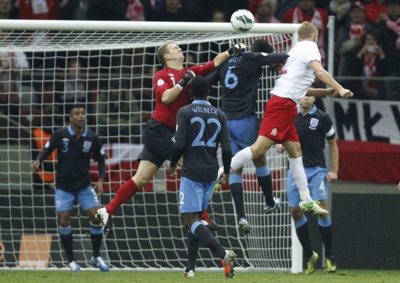 Lenkija namie sužaidė 1:1 su Anglija