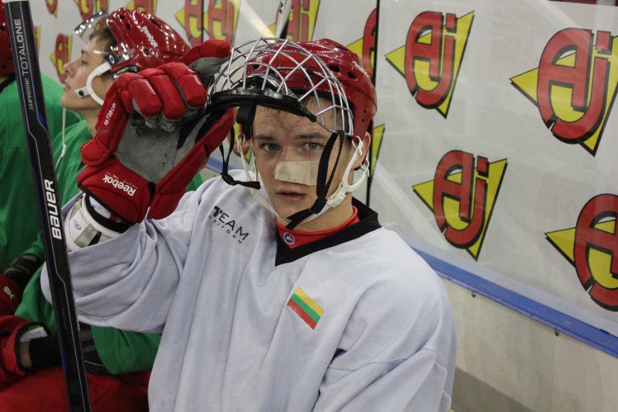 Nerijus Ališauskas nori atstovauti Lietuvos ledo ritulio rinktinę olimpinėje atrankoje.