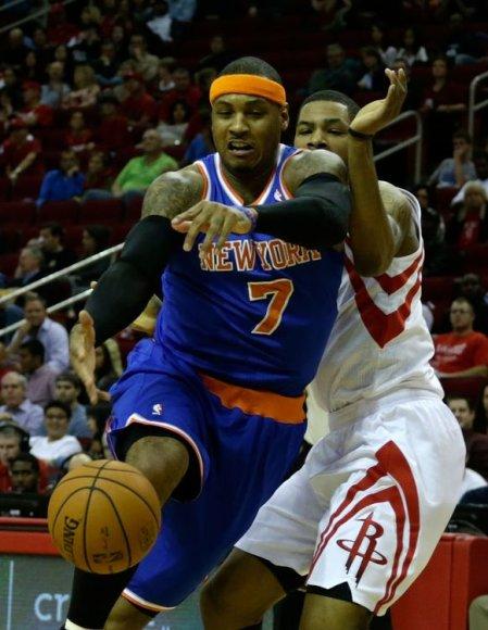 """""""Brooklyn Nets"""" ekipos lyderis Carmelo Anthony"""