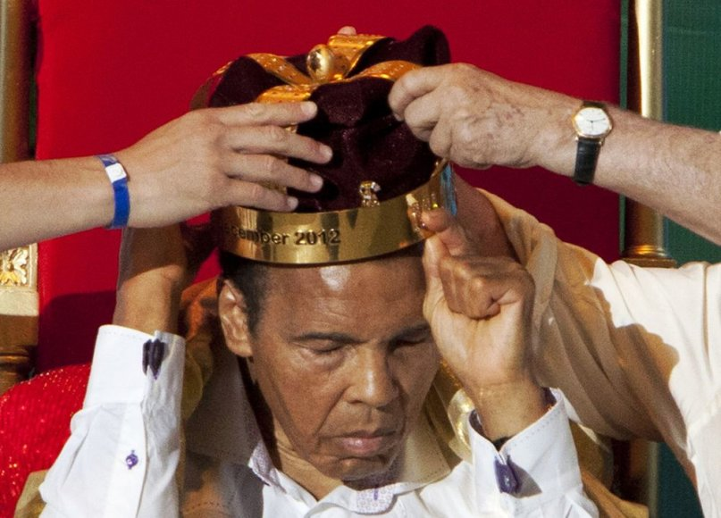 Mohammadas Ali karūnuotas bokso karaliumi