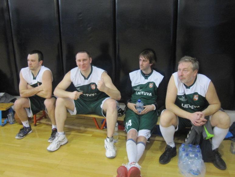 Lietuvos sporto žurnalistai Sankt Peterburgo turnyre užėmė 3-ąją vietą.
