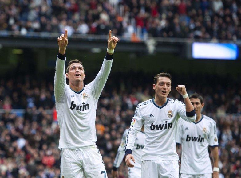 "Madrido ""Real"" ekipa vedama Cristiano Ronaldo."