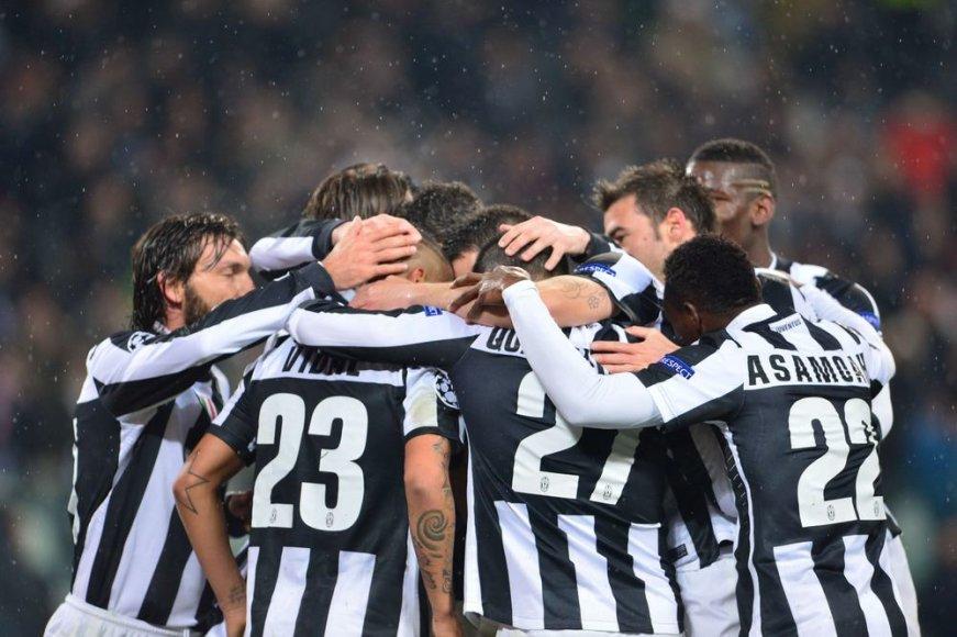 """""""Juventus"""" ekipa be vargo žengė į UEFA Čempionų lygos ketvirtfinalį"""