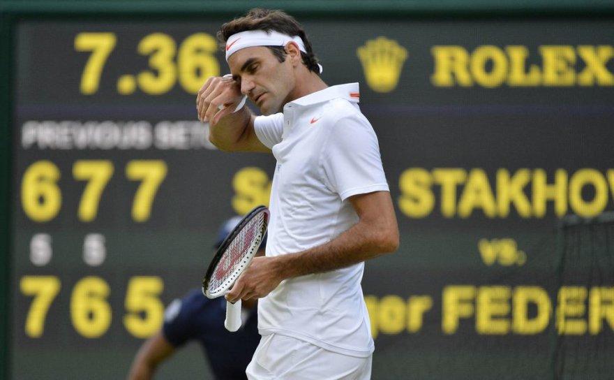Roger Federeris pasitraukė po antrojo Vimbldono varžybų etapo