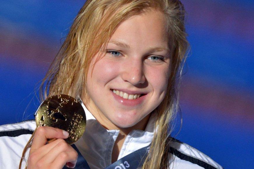 Rūta Meilutytė – pasaulio plaukimo čempionė