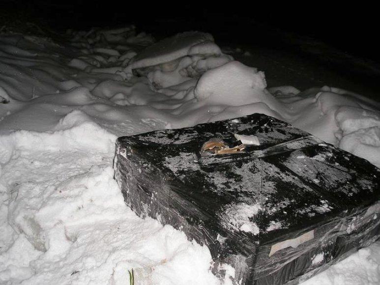 Iš Nemuno ištrauktos cigaretės