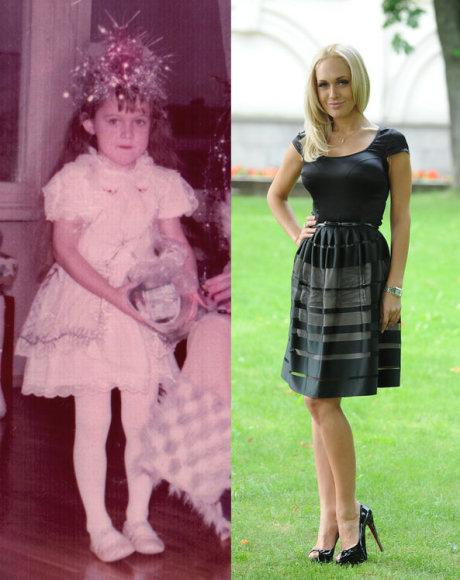 Oksana Pikul vaikystėje ir dabar