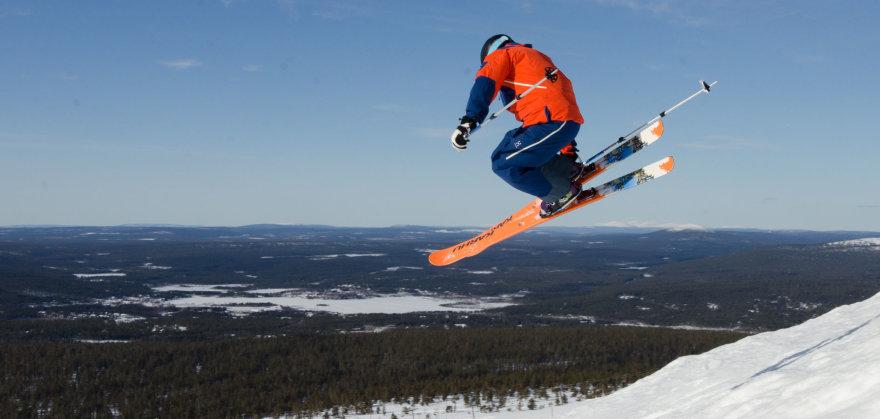 Ylläs / slidinėjimo kurortai Suomijoje