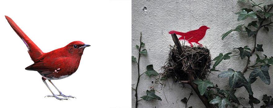 """Projekto partnerio nuotr./Paukštis / """"Id-iom"""" paukštis"""