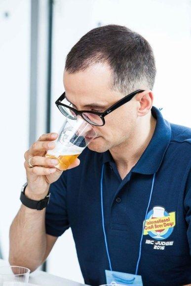 Projekto partnerio nuotr./R.Barakūnas alaus čempionate Japonijoje