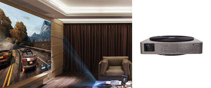 "Projekto partnerio nuotr./""XGIMI Z4 Aurora Screenless TV"""