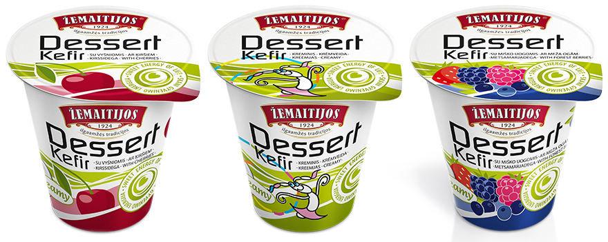 """Gamintojo nuotr./""""Dessert Kefir"""""""