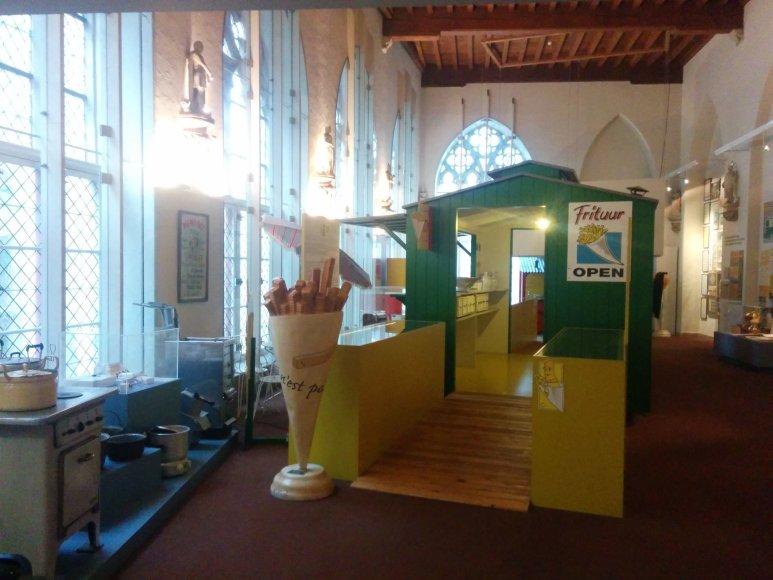 Monikos Svėrytės nuotr./Gruzdintų bulvyčių muziejuje