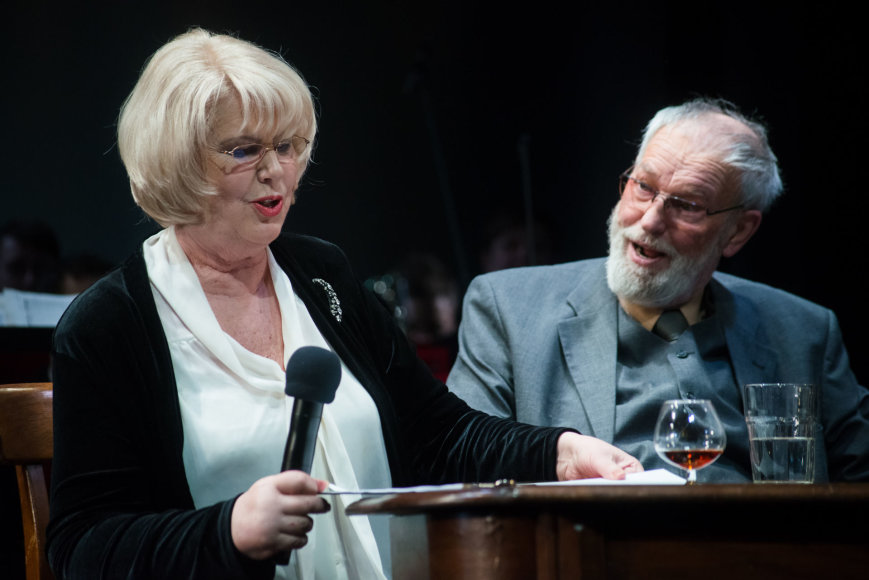 Lauros Vansevičienės nuotr./Vaiva Mainelytė, Regimantas Adomaitis