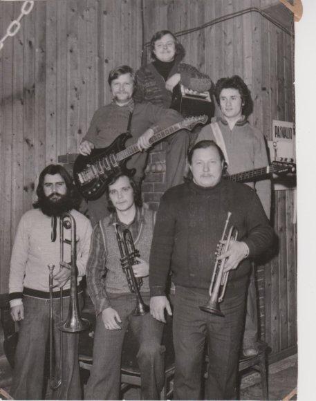 Asmeninio albumo nuotr./Vytautas Bičkauskas (kairėje)