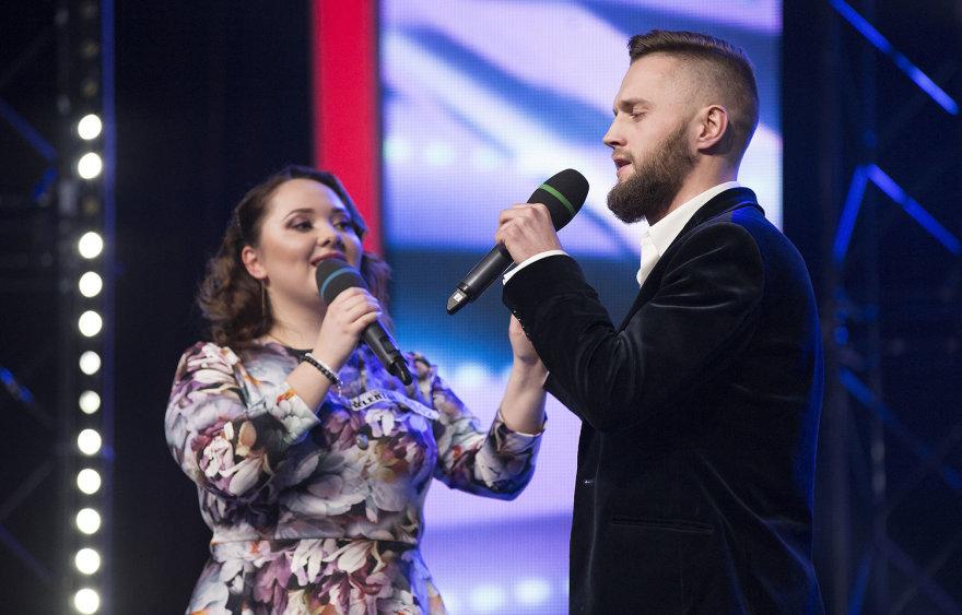 TV3 nuotr./Viktoras Kulakovas ir Karina Borucha