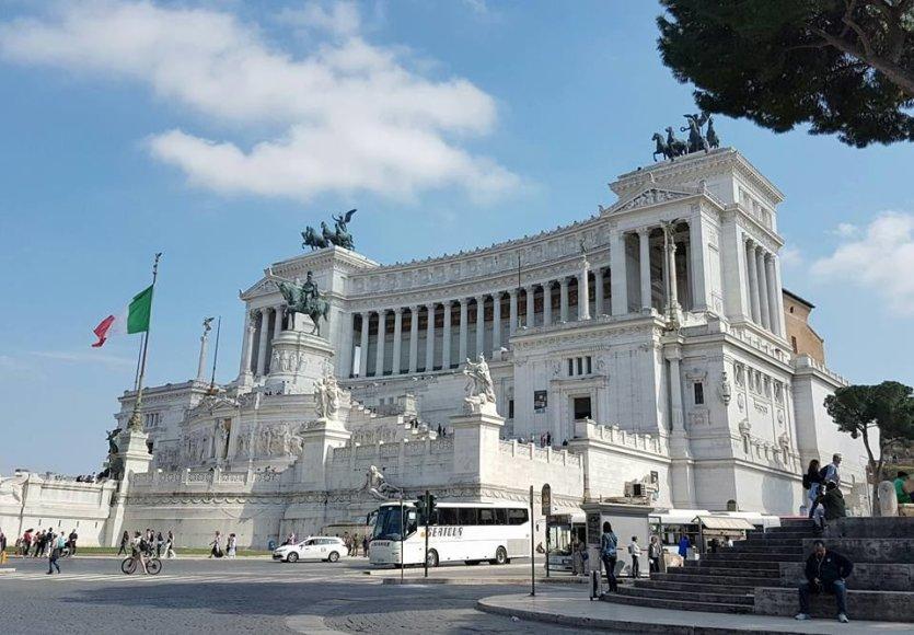 Ingos ir Aivaro Stumbrų kelionė į Romą