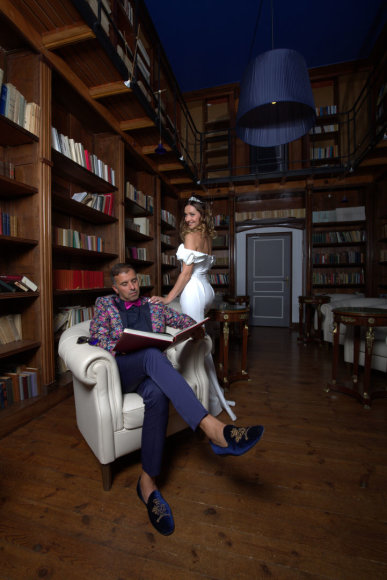 Mickael Crépel nuotr./Nora Grečichinaitė ir Anass Margoum