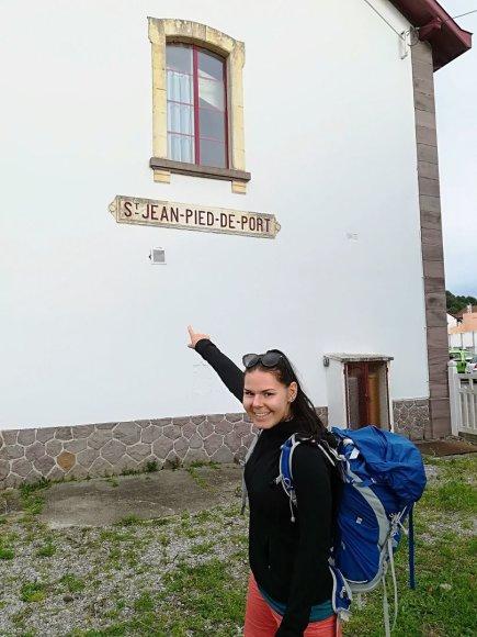 Monikos Svėrytės nuotr./Saint-Jean-Pied-de-Port miestelyje