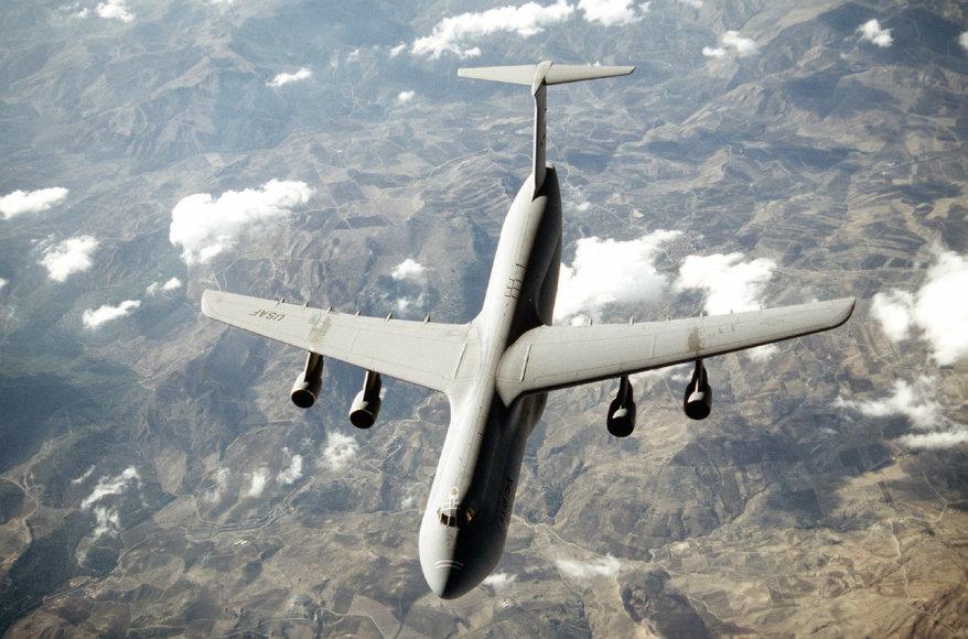 """""""Wikipedia"""" nuotr./Krovininis lėktuvas """"C-5 Galaxy"""""""