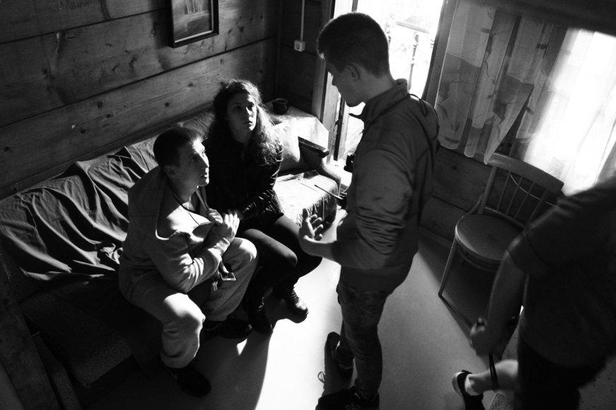 """Filmo """"Sugrįžimas"""" stop kadras/Domo Vilčinsko trumpametražis draminis filmas """"Sugrįžimas"""""""