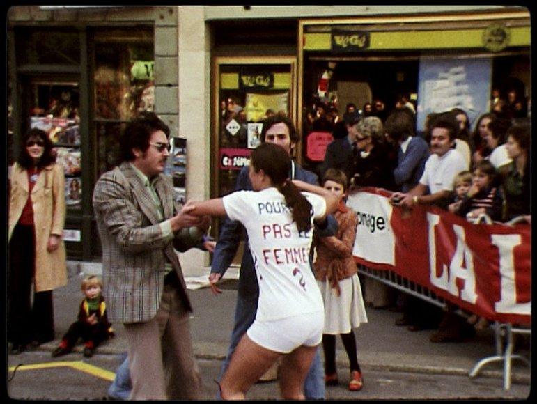 """Stop kadras/Filmo """"Už laisvę bėgti"""" (""""Free To Run"""") stop kadras"""