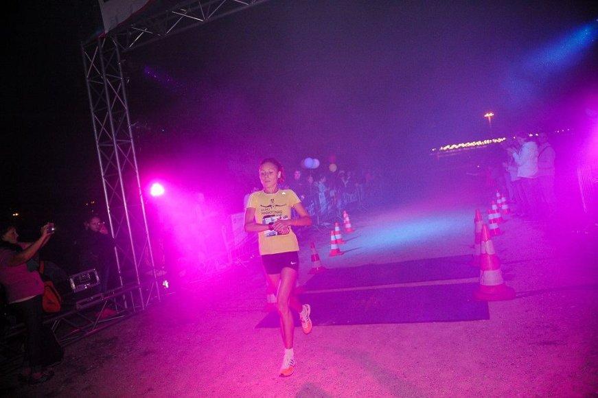 Organizatorių nuotr./Naktinis bėgimas
