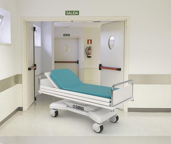 Organizatorių nuotr./Robotizuota ligoninės lova