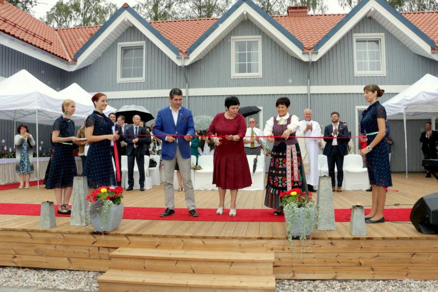 KMPC nuotr./KMPC bazė Pervalkoje, kuri pastatyta už ES lėšas skirtas studentų bendrabučiui