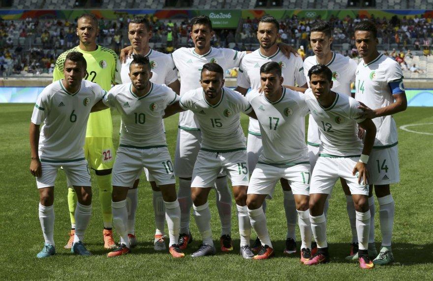 """""""Scanpix"""" nuotr./Alžyro futbolo rinktinė"""