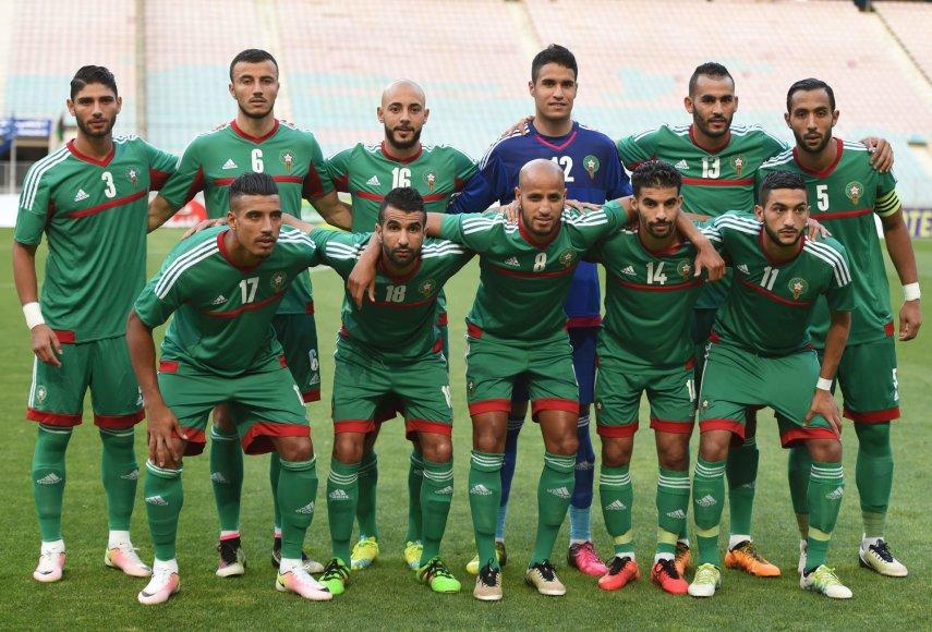 """Scanpix"" nuotr./Maroko futbolo rinktinė"