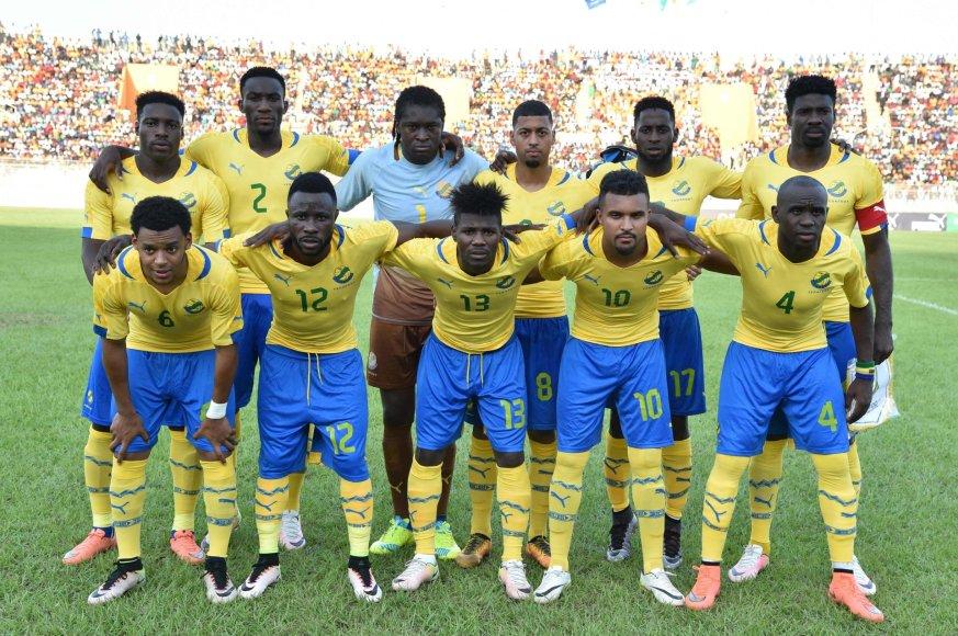 """""""Scanpix"""" nuotr./Gabono futbolo rinktinė"""