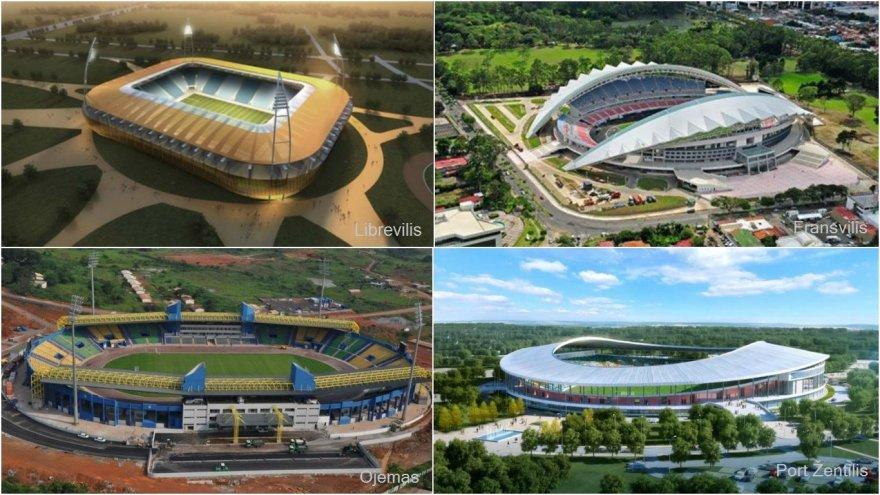Afrikos čempionato stadionai