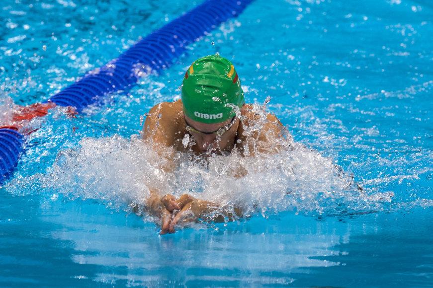 Alfredo Pliadžio/LTOK nuotr./Andriaus Šidlausko debiutas olimpiadoje