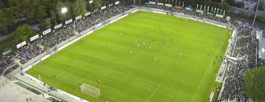 ludogorets.com nuotr./Stadionas iš paukščio skrydžio
