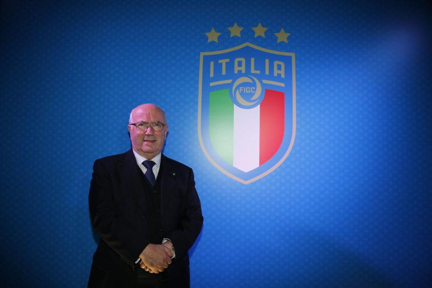 """Scanpix"" nuotr./FIGC prezidentas Carlo Tavecchio"