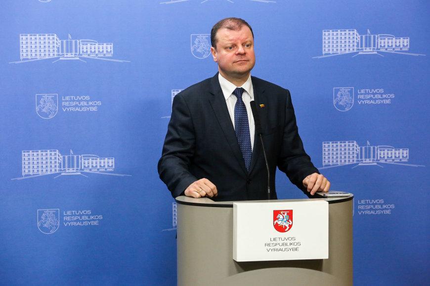 Vidmanto Balkūno / 15min nuotr./Ministras pirmininkas Saulius Skvernelis