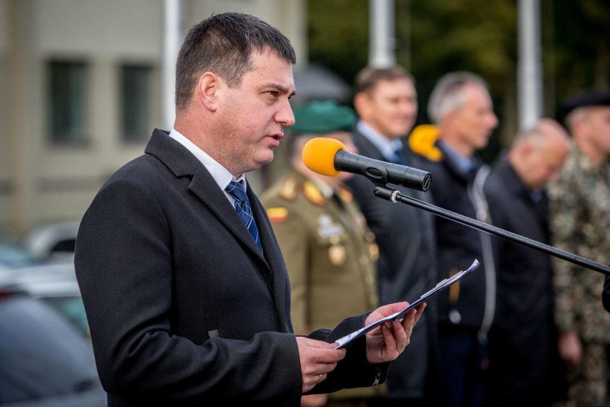Vidmanto Balkūno / 15min nuotr./ Ramūnas Matonis Policijos departamento prie VRM Komunikacijos skyriaus vedėjas