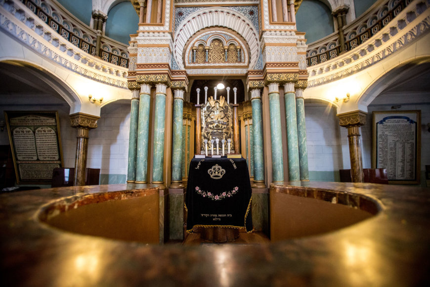 Vidmanto Balkūno / 15min nuotr./Vilniaus choralinė sinagoga