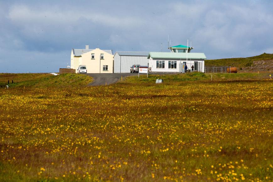Vidmanto Balkūno nuotr./Islandijos šiauriausių gyventojų namai