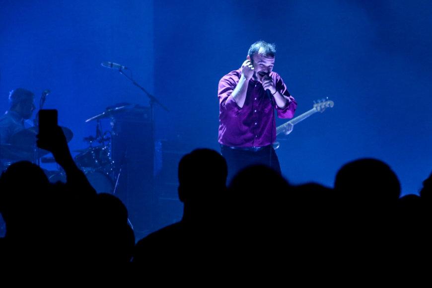 "Vidmanto Balkūno / 15min nuotr./""Future Islands"" koncertas Vilniuje"