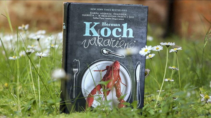 """15min nuotr./Geriausios verstinės knygos rinkimai – Herman Koch, """"Vakarienė"""""""