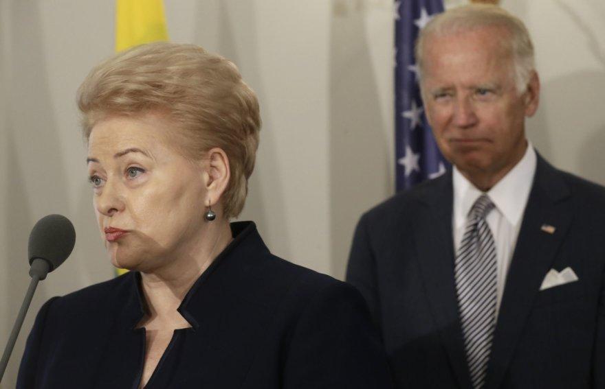 """Reuters""/""Scanpix"" nuotr./Joe Bidenas Latvijoje"
